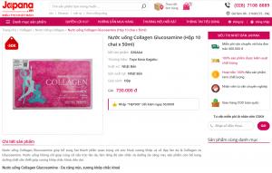 Collagen Glucosamine tại japana.vn