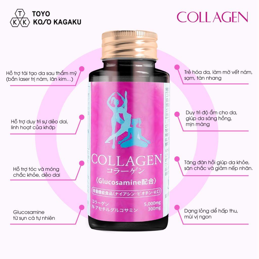 Công dụng của Collagen Glucosamine Toyo đối với khớp - Blog - Collagen Nhật